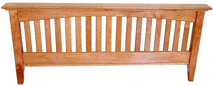 Build a wooden box for Arts and crafts bed plans