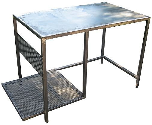 Free plans how to make a welding table for Plan fabrication table